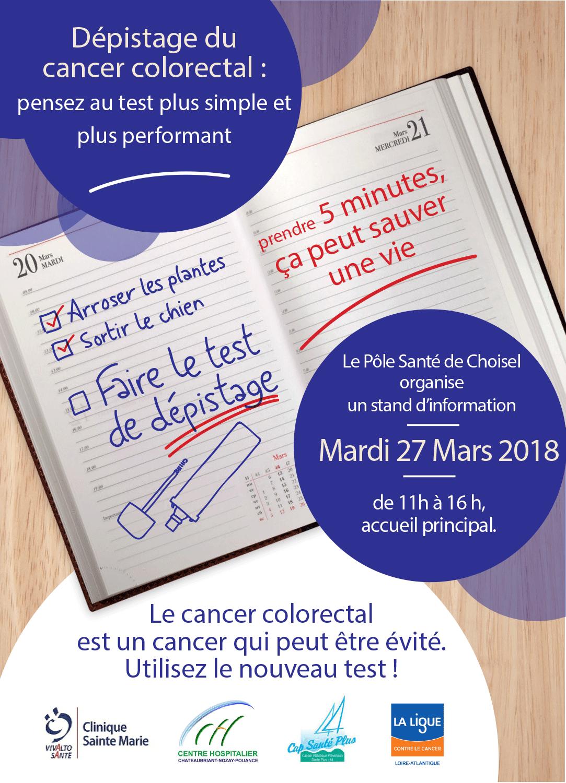 Mars Bleu : parlons du dépistage du cancer colorectal !